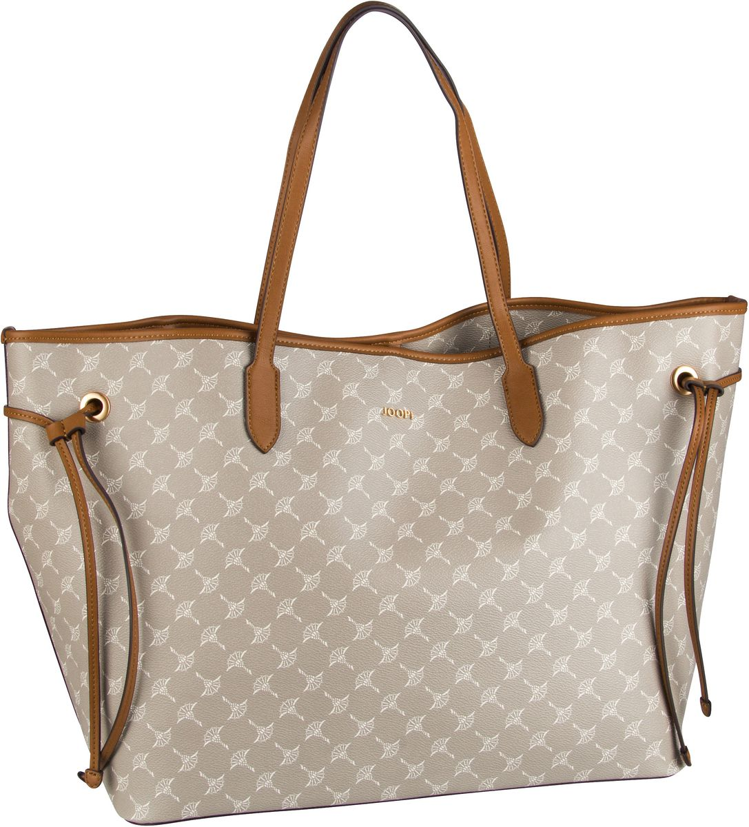 Handtasche Lara Cortina Shopper Large Beige