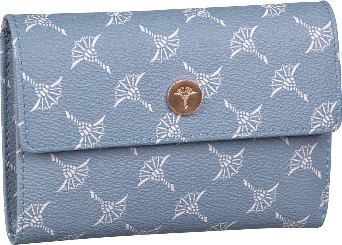 Geldboersen für Frauen - Joop Geldbörse Cosma Cortina Purse H10F Light Blue  - Onlineshop Taschenkaufhaus