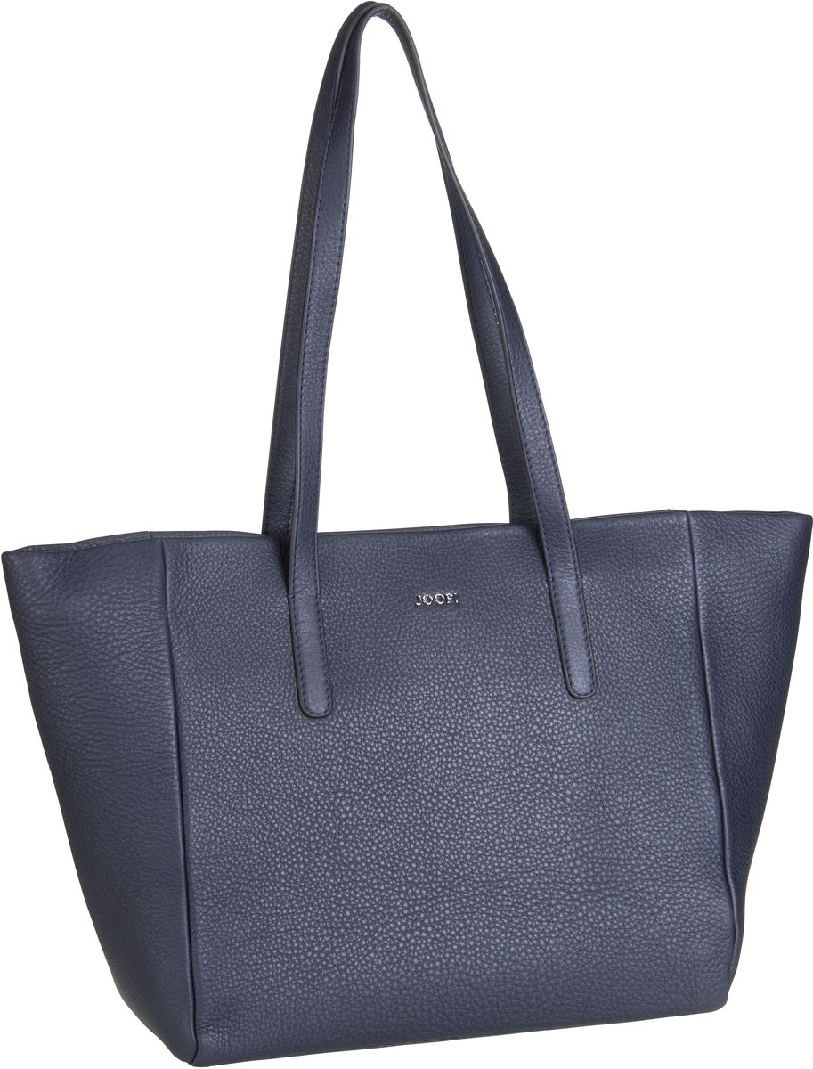 Handtasche Nature Grain Helena Shopper LHZ Dark Blue/Silver