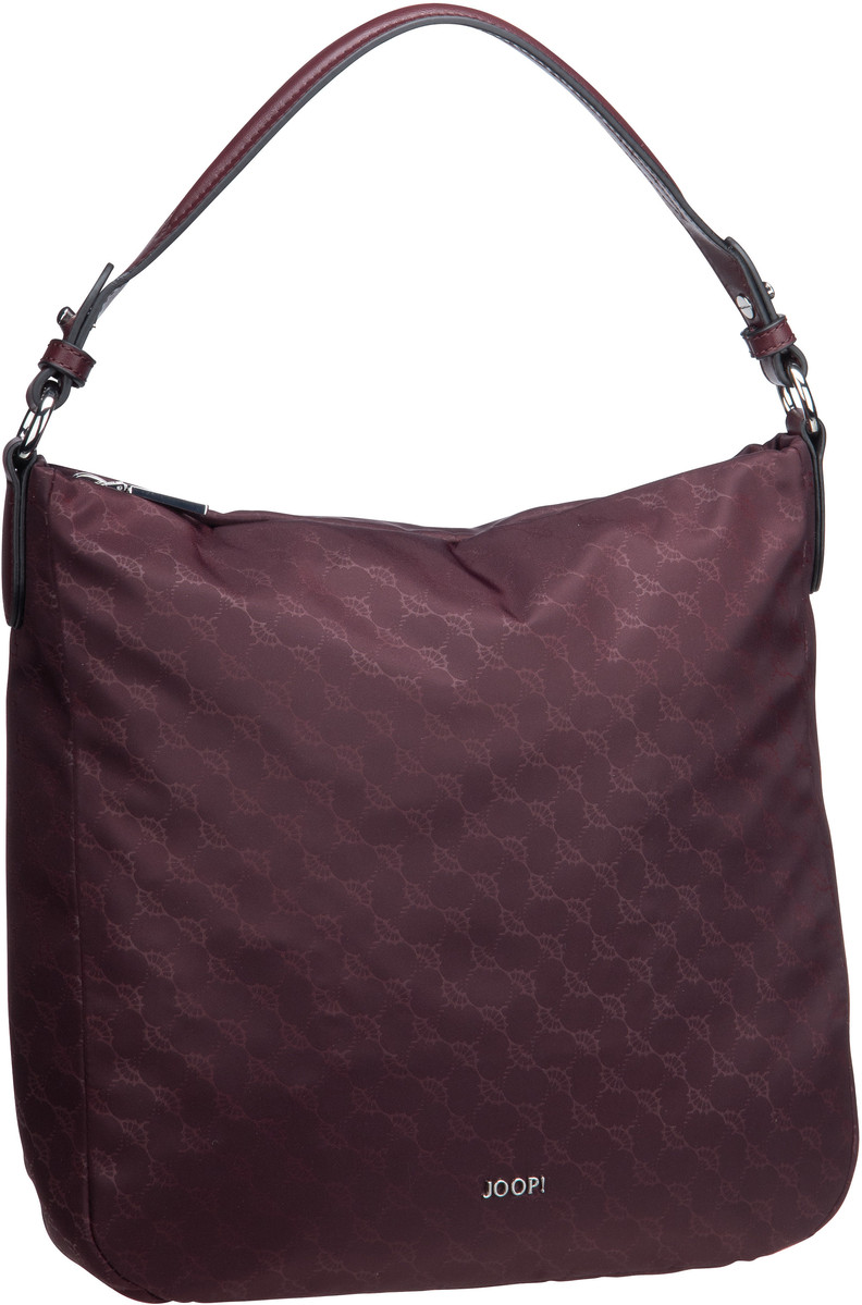 Handtasche Nylon Cornflower Dina Hobo LVZ Burgundy