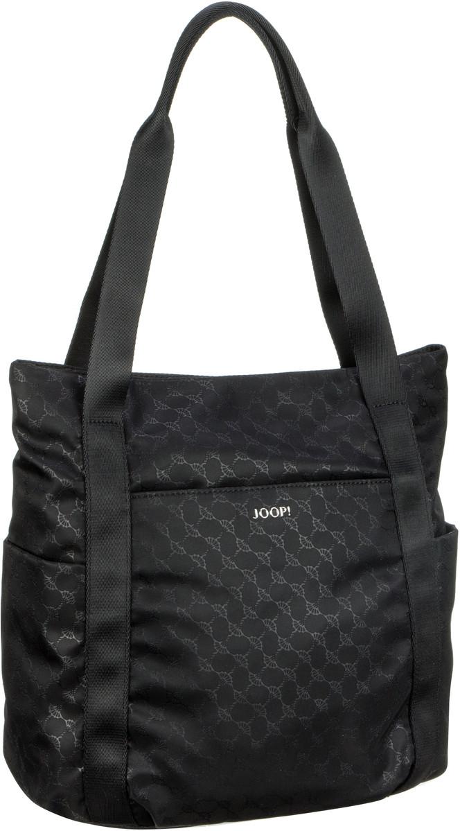 Handtasche Nylon Cornflower Sporty Fena Shopper MVZ Black