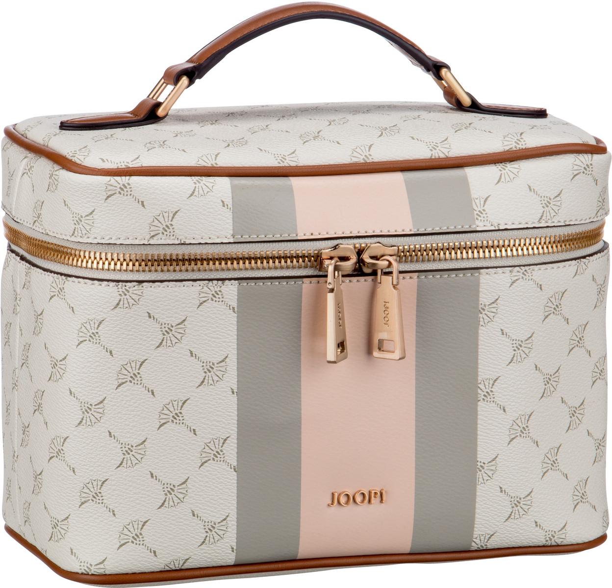 Reisegepaeck für Frauen - Joop Kulturbeutel Beauty Case Cortina Due Flora WashBag MHZ Rose  - Onlineshop Taschenkaufhaus