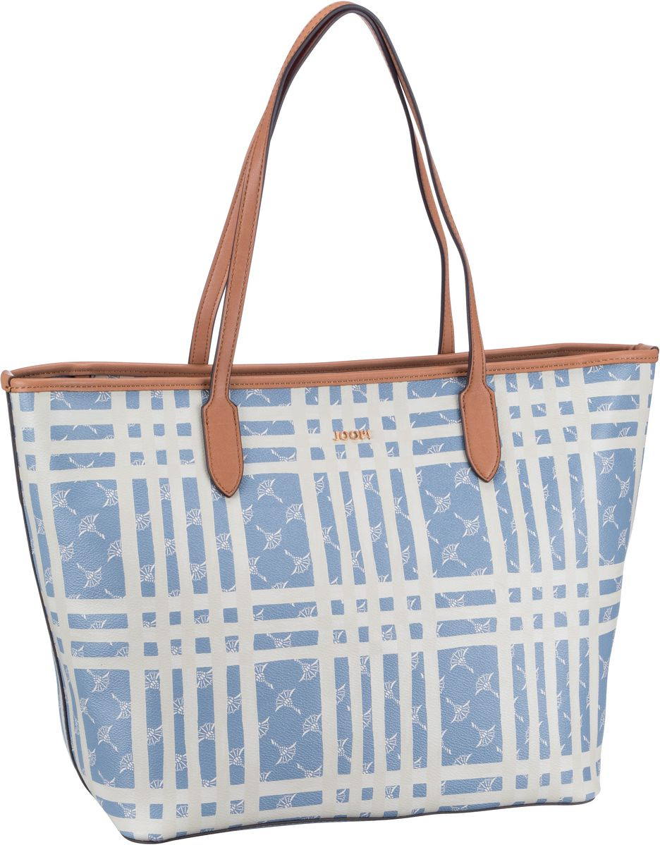 Handtasche Cortina Cheque Lara Shopper LHZ Light Blue