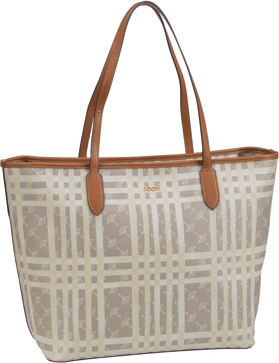 Handtasche Cortina Cheque Lara Shopper LHZ Beige