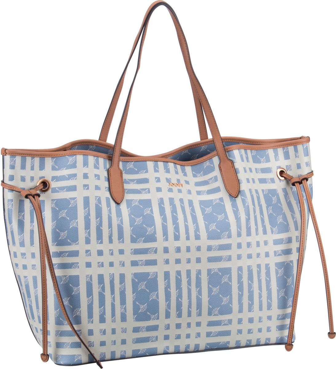 Shopper Cortina Cheque Lara Shopper XLHO Light Blue