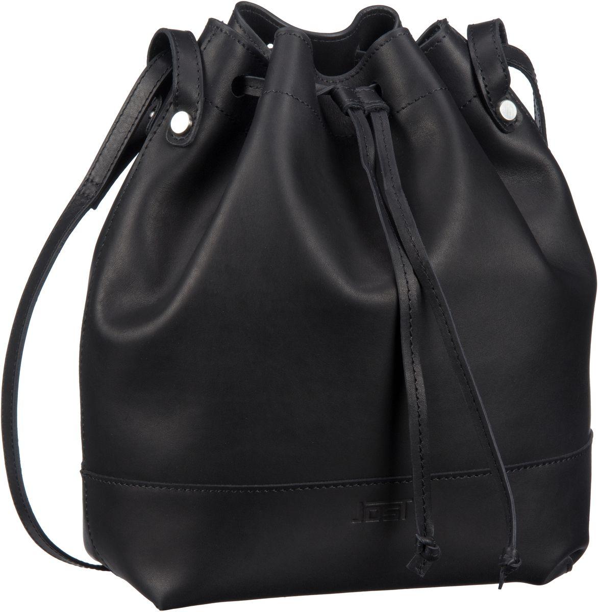 Handtasche Rana 1203 Zugbeutel Schwarz