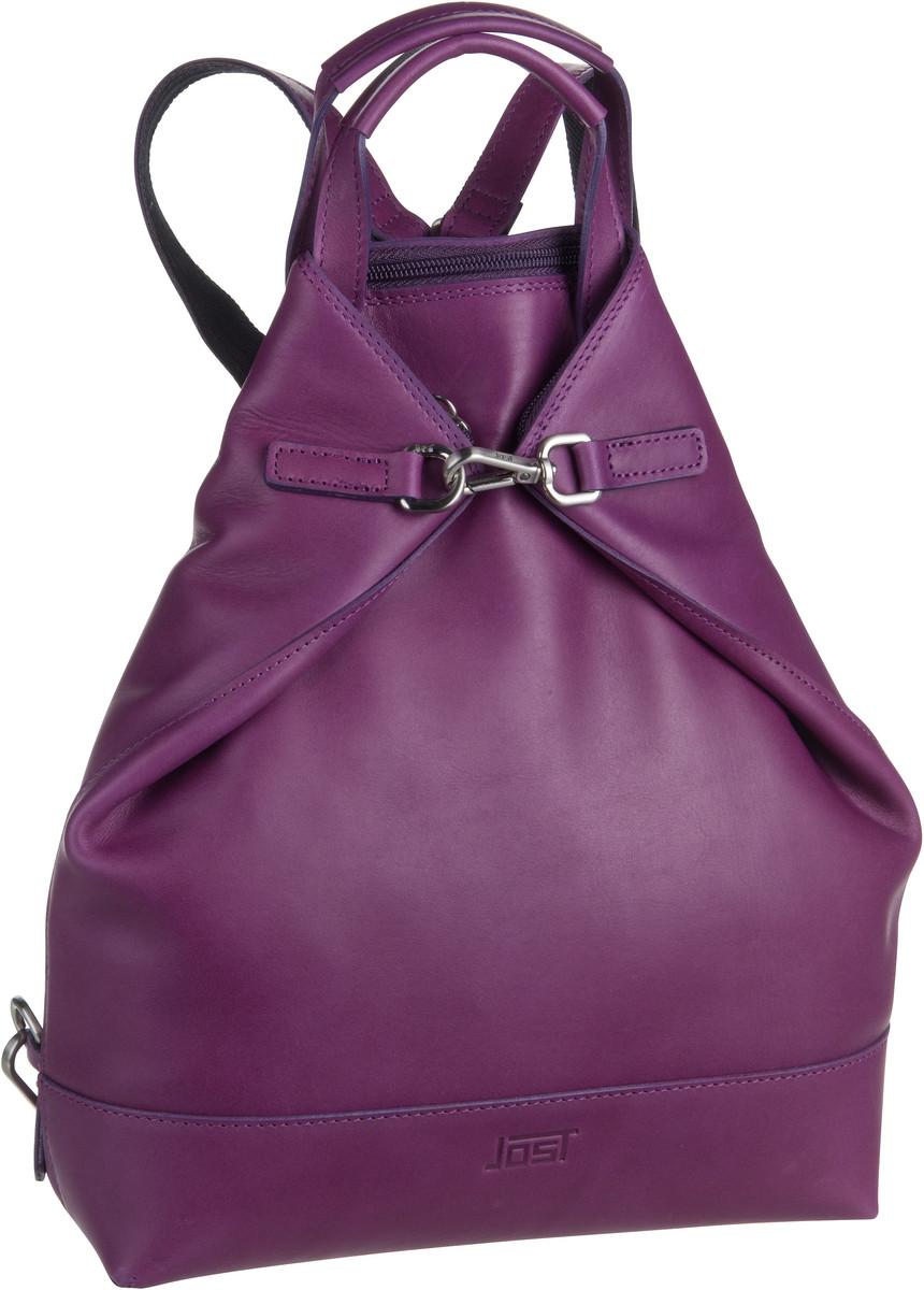 Rucksaecke für Frauen - Jost Rucksack Daypack Rana 1206 X Change 3in1 Bag XS Lila  - Onlineshop Taschenkaufhaus