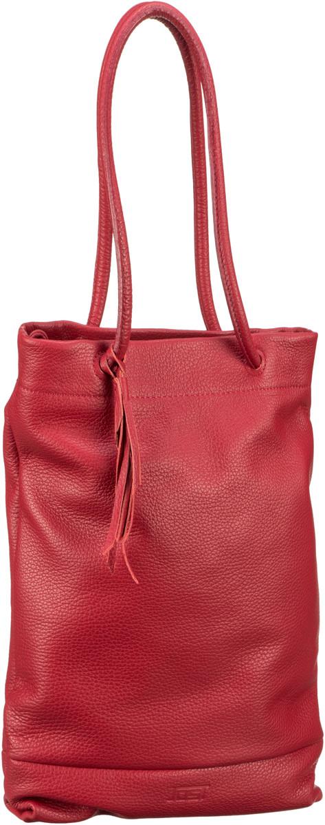 Handtasche Vika 1962 Zugbeutel Red
