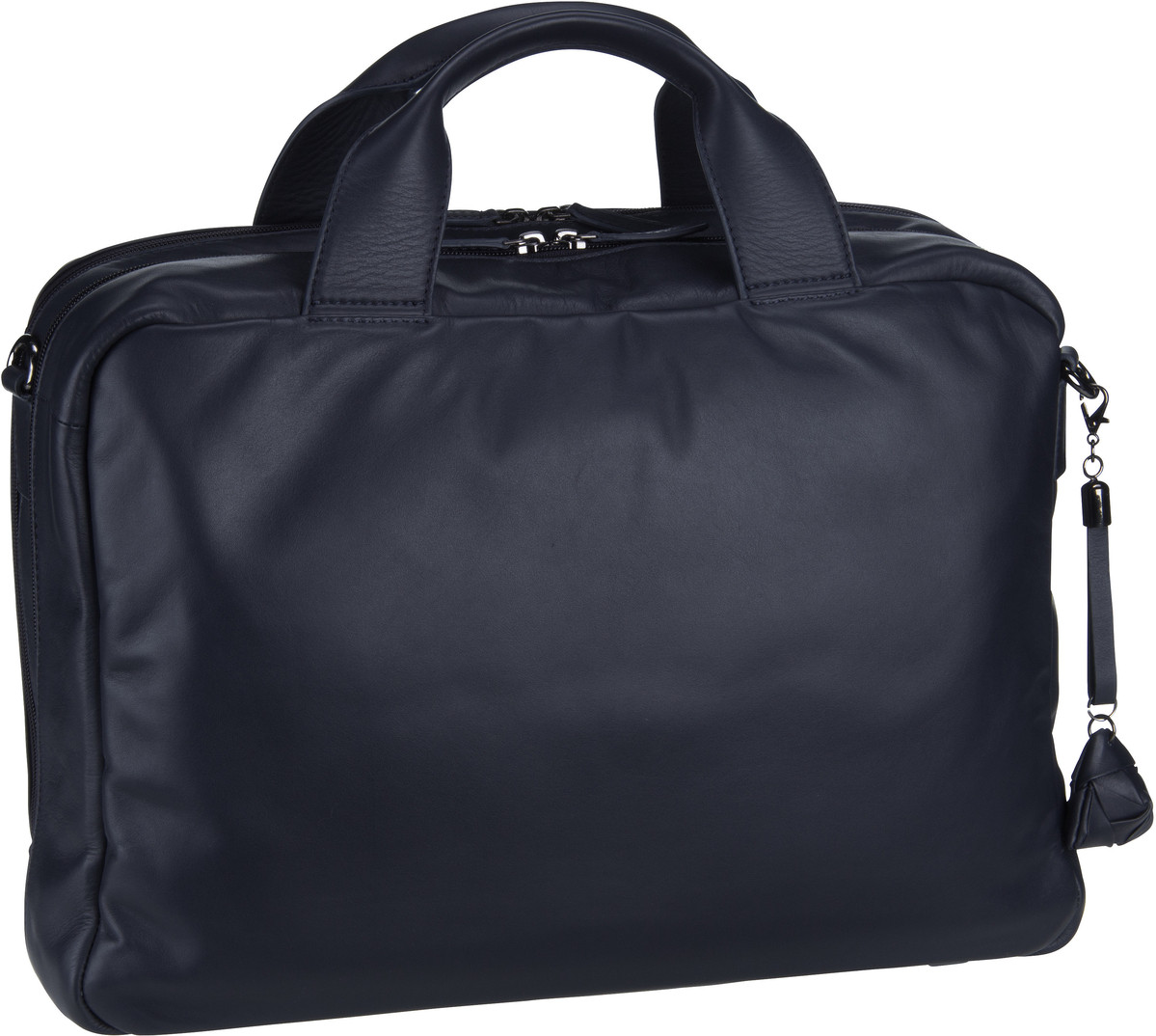 Businesstaschen für Frauen - Jost Aktentasche Alice Sara Ott 6010 Businessbag 2 Blau  - Onlineshop Taschenkaufhaus