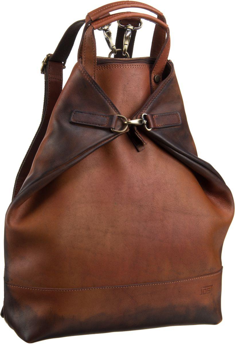Rucksack / Daypack Randers 2485 X-Change 3in1 Bag S Cognac