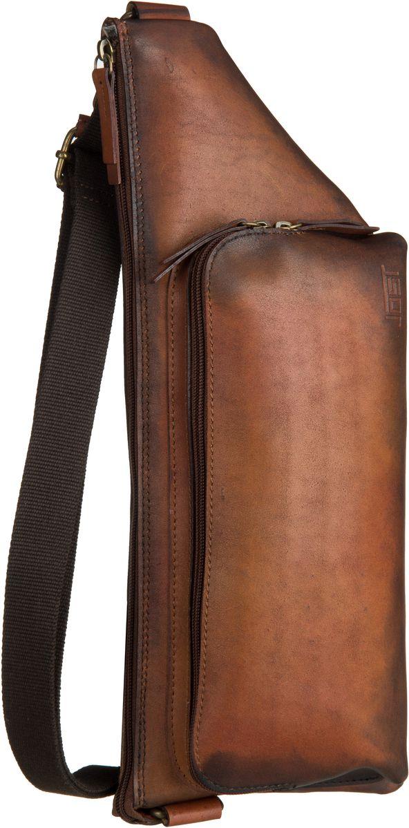 Rucksack / Daypack Randers 2487 Crossover Bag Cognac