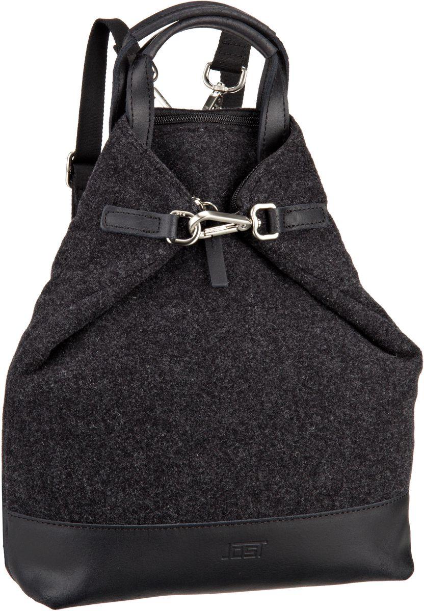 Jost Farum 2173 X Change 3in1 Bag XS Black Rucksack Daypack