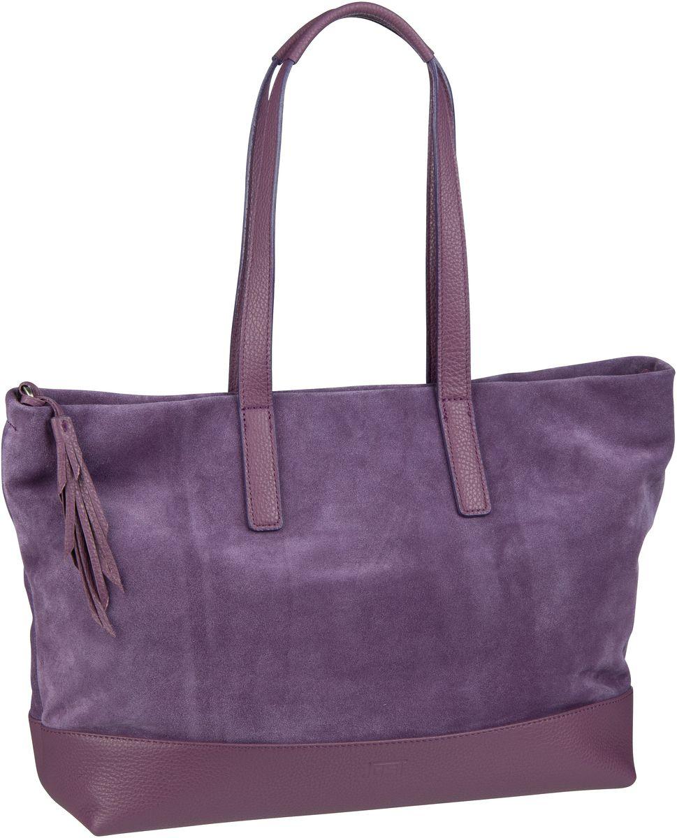 Handtasche Motala 1735 Shopper Lila