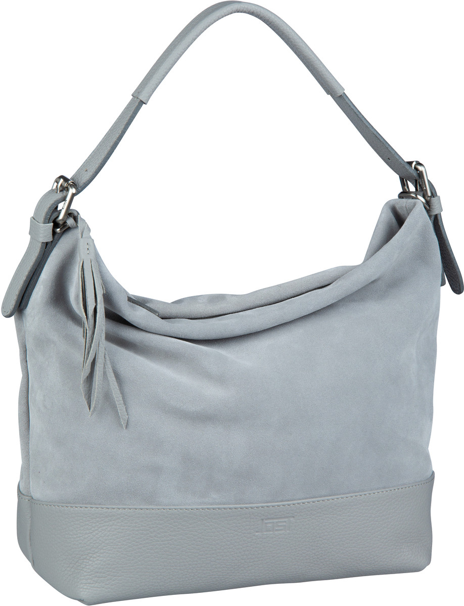 Handtasche Motala 1738 Hobo Bag Grau