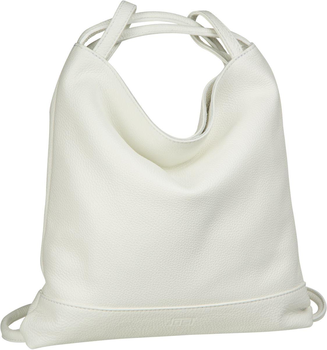 Rucksack / Daypack Vika 1831 Beutel-Rucksack Weiß