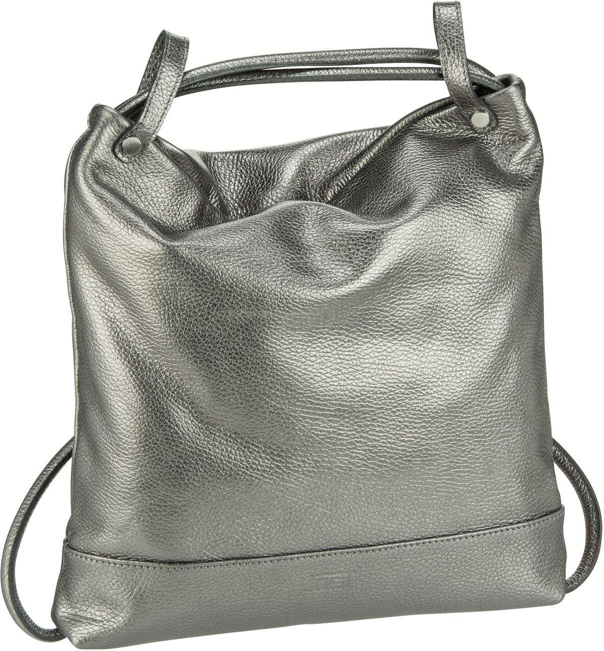 Rucksack / Daypack Vika 1831 Beutel-Rucksack Silver