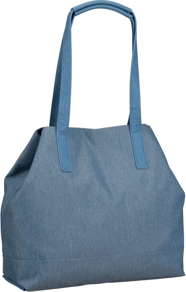 Handtaschen für Frauen - Jost Handtasche Bergen 1142 Shopper Blue  - Onlineshop Taschenkaufhaus