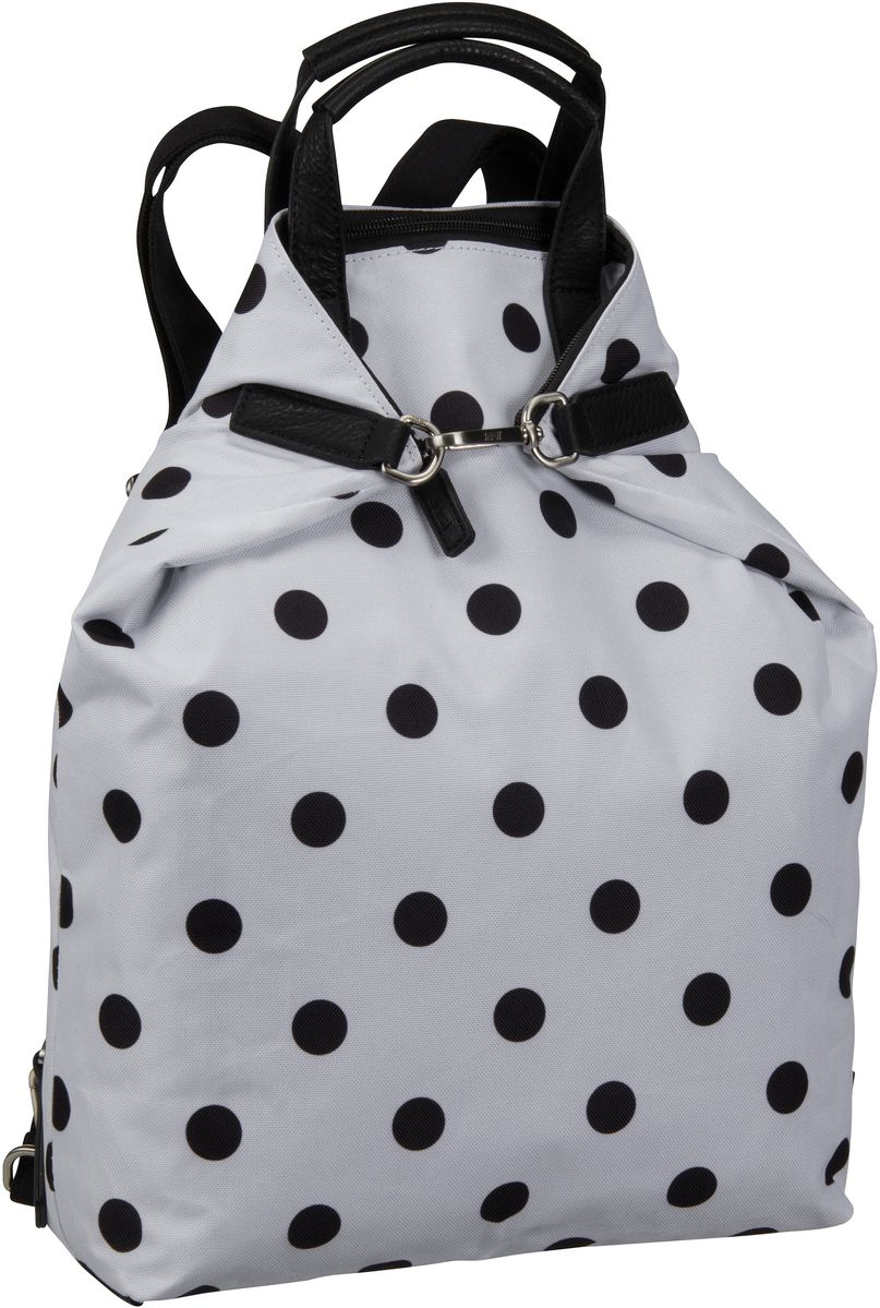 Jost Rucksack / Daypack Black & White 1127 X-Change 3in1 Bag S Polkadot Black