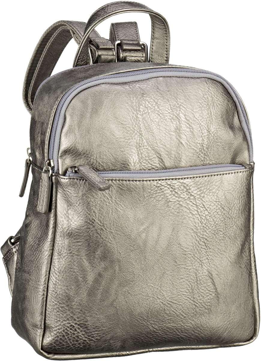Rucksaecke für Frauen - Jost Rucksack Daypack Merritt 2685 Daypack Silver  - Onlineshop Taschenkaufhaus