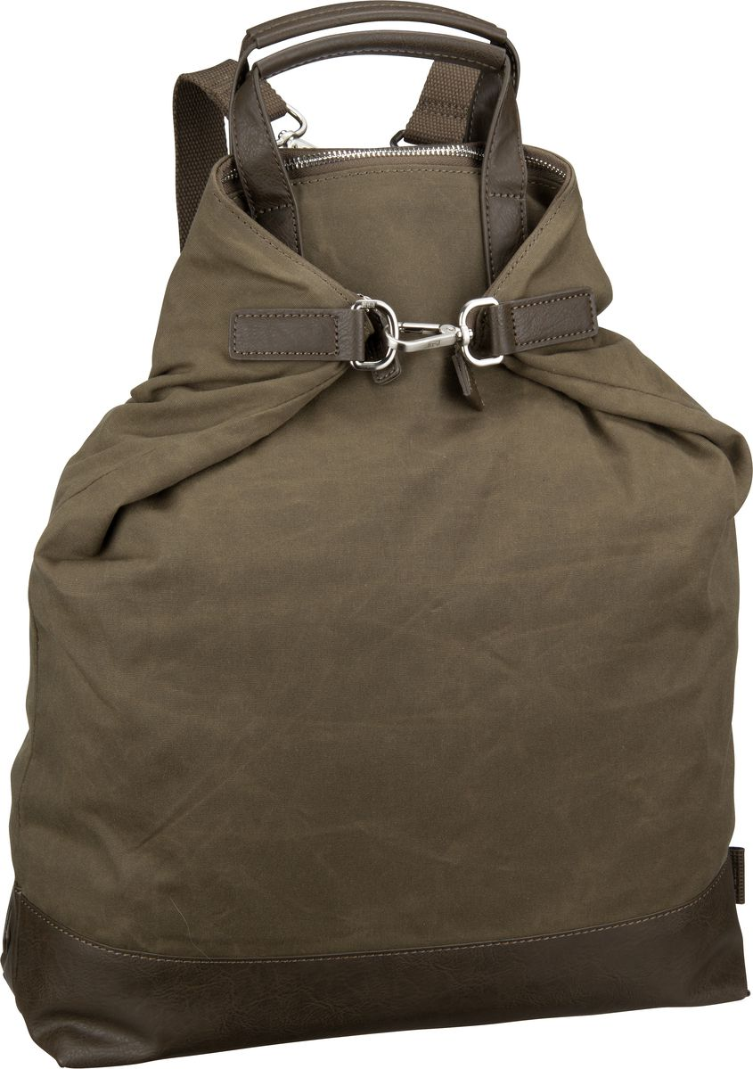 Jost Laptoprucksack Göteborg 1433 X-Change 3in1 Bag L Olive (14.6 Liter)