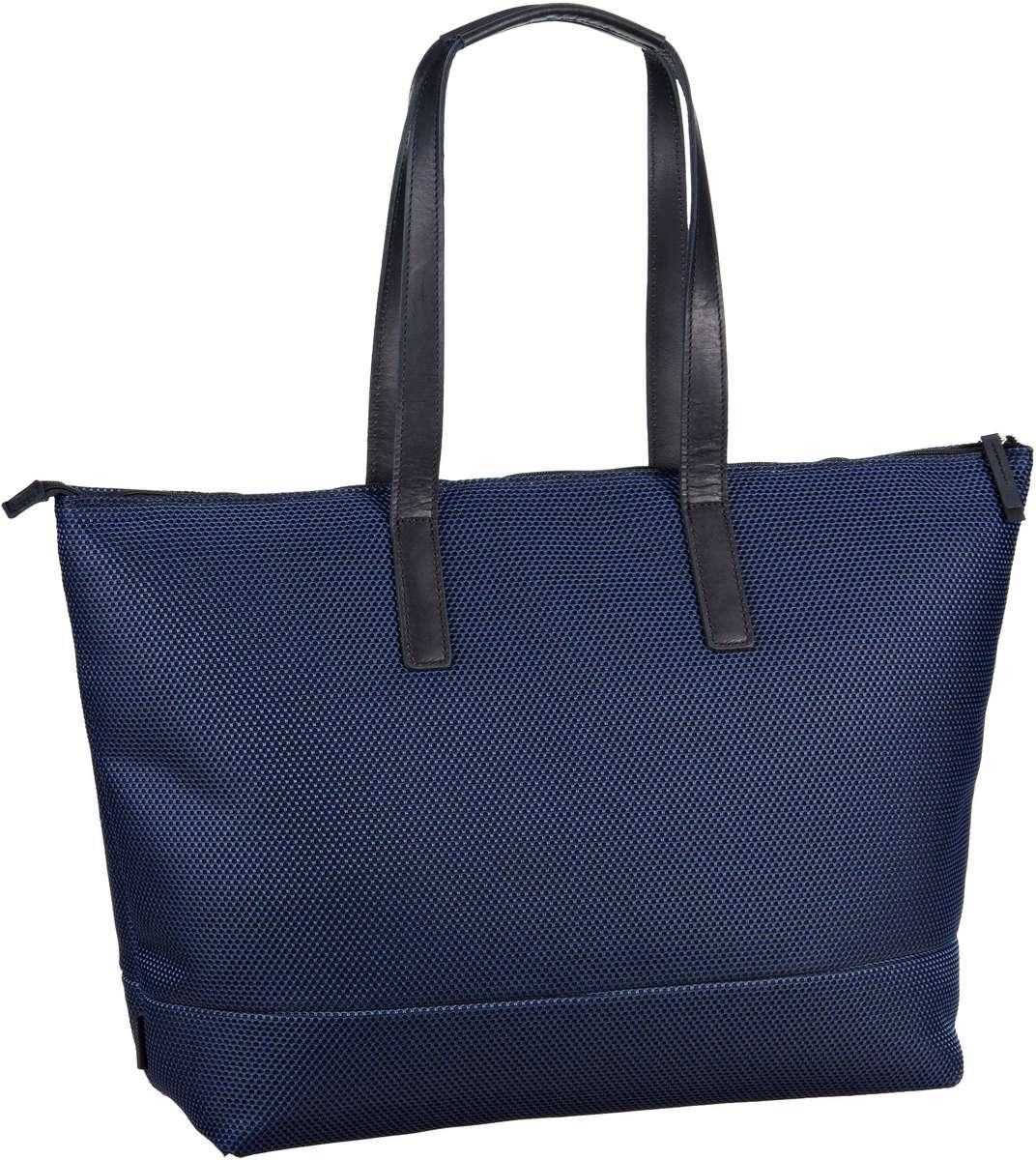 Handtasche Mesh 6183 Shopper Blau