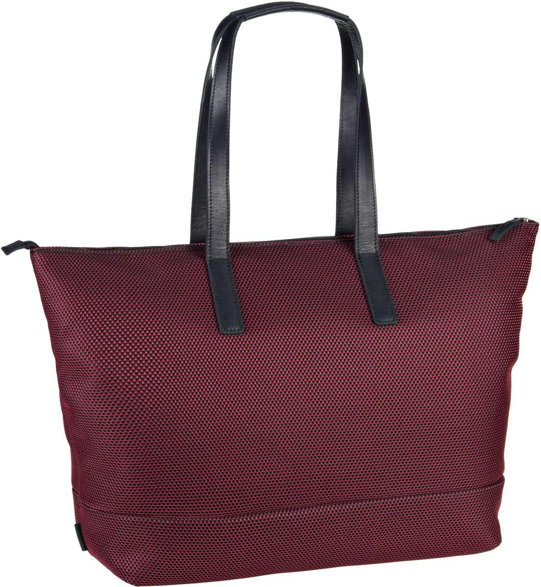 Handtasche Mesh 6183 Shopper Rot