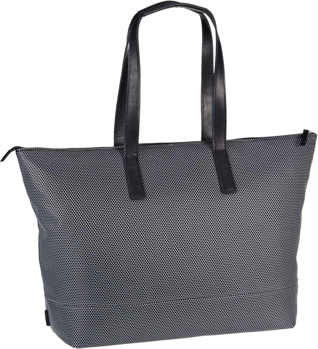 Handtasche Mesh 6183 Shopper Silber