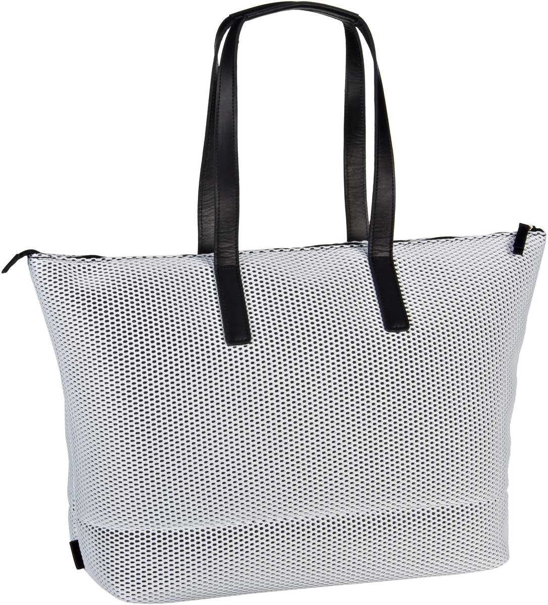 Handtasche Mesh 6183 Shopper Weiß