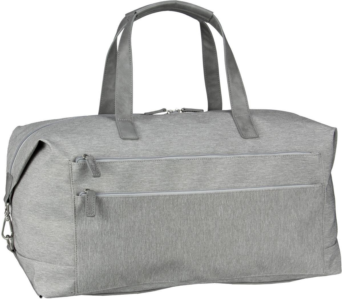 Reisegepaeck für Frauen - Jost Reisetasche Bergen 1147 Reisetasche Light Grey  - Onlineshop Taschenkaufhaus