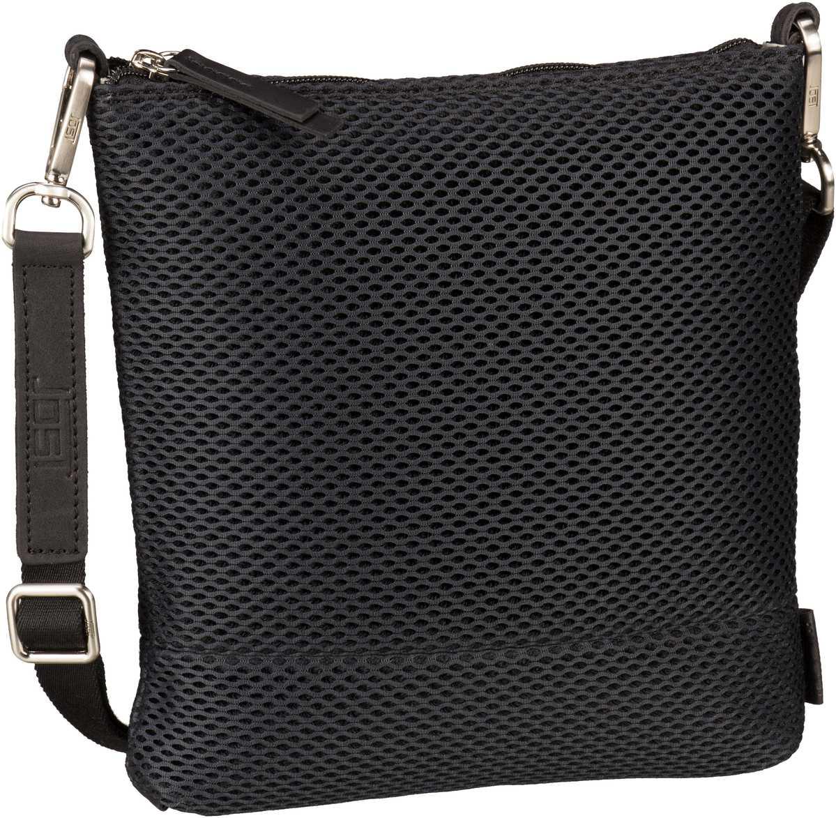 Schultertaschen für Frauen - Jost Umhängetasche Mesh 6181 Umhängetasche XS Schwarz  - Onlineshop Taschenkaufhaus