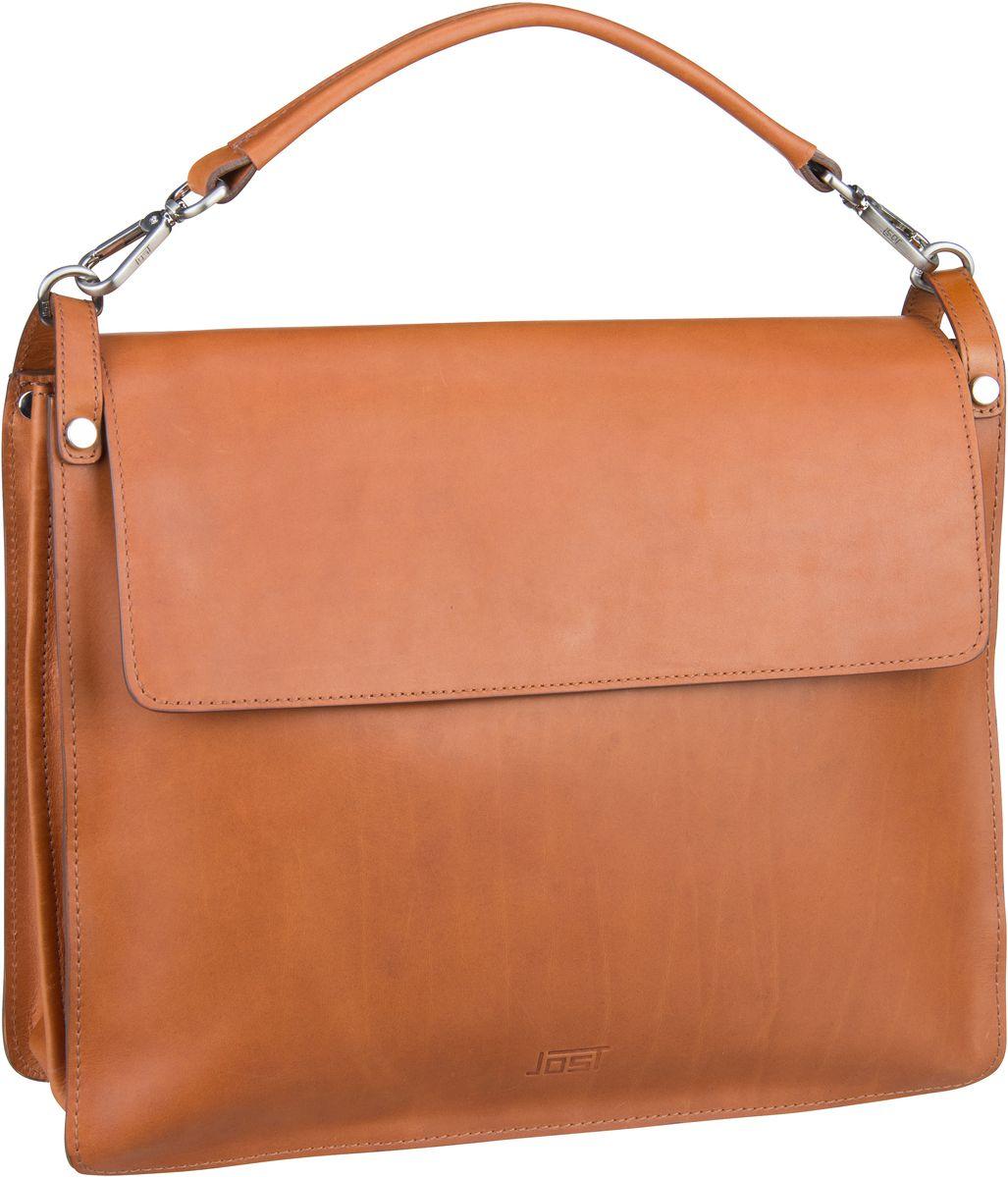 Businesstaschen für Frauen - Jost Aktentasche Rana 1226 Businesstasche Cognac  - Onlineshop Taschenkaufhaus