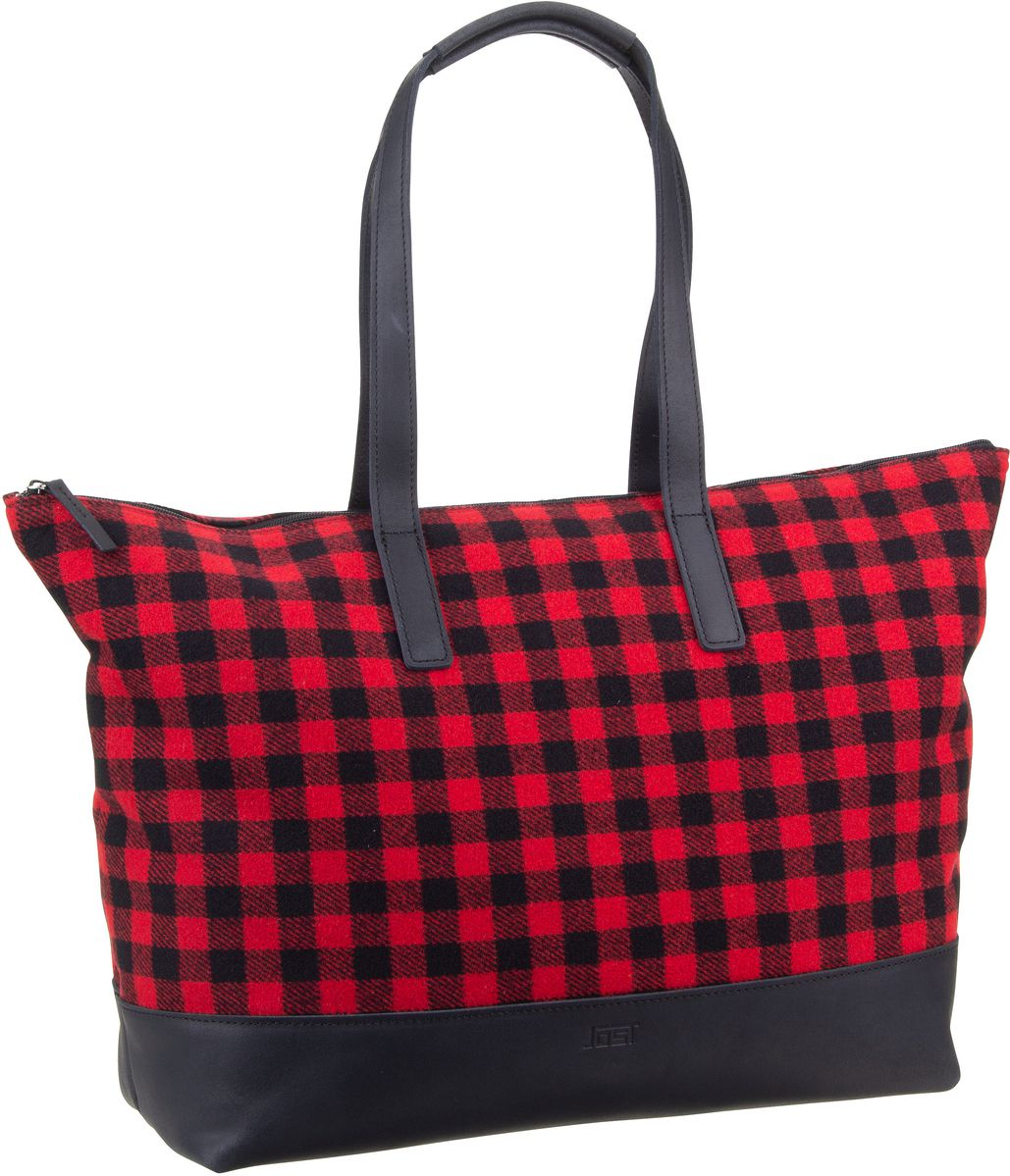 Shopper Nura 3834 Shopper Black/Red