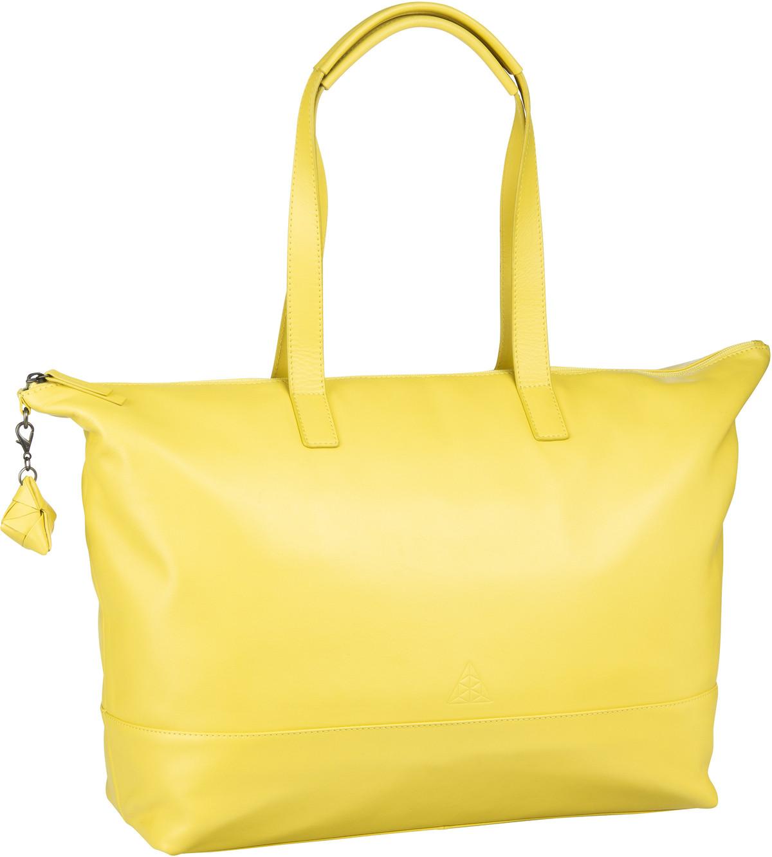 Handtasche Alice Sara Ott 6014 Shopper Gelb