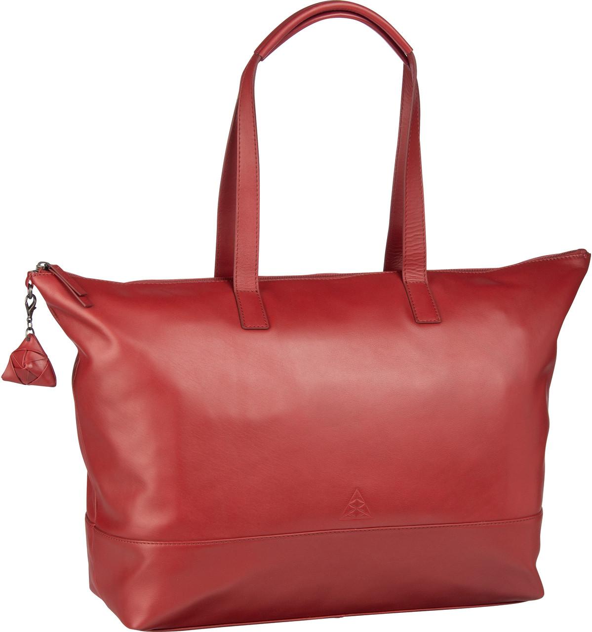Handtasche Alice Sara Ott 6014 Shopper Rot