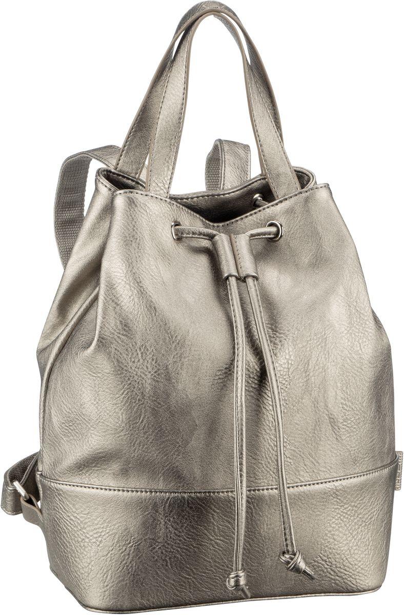 Rucksaecke für Frauen - Jost Rucksack Daypack Merritt 2691 Beutel Rucksack Silber  - Onlineshop Taschenkaufhaus