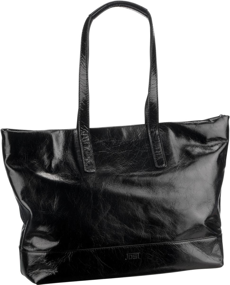 Handtasche Boda 6619 Shopper Schwarz