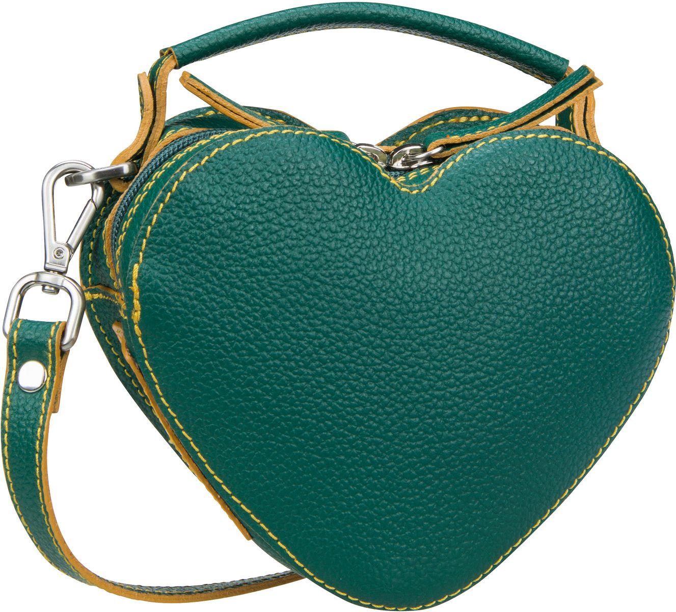 Handtasche Nanda 2611 Umhängetasche Grün