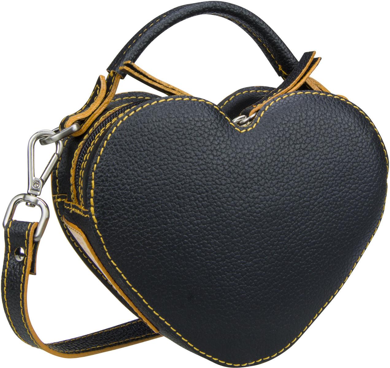 Handtasche Nanda 2611 Umhängetasche Schwarz