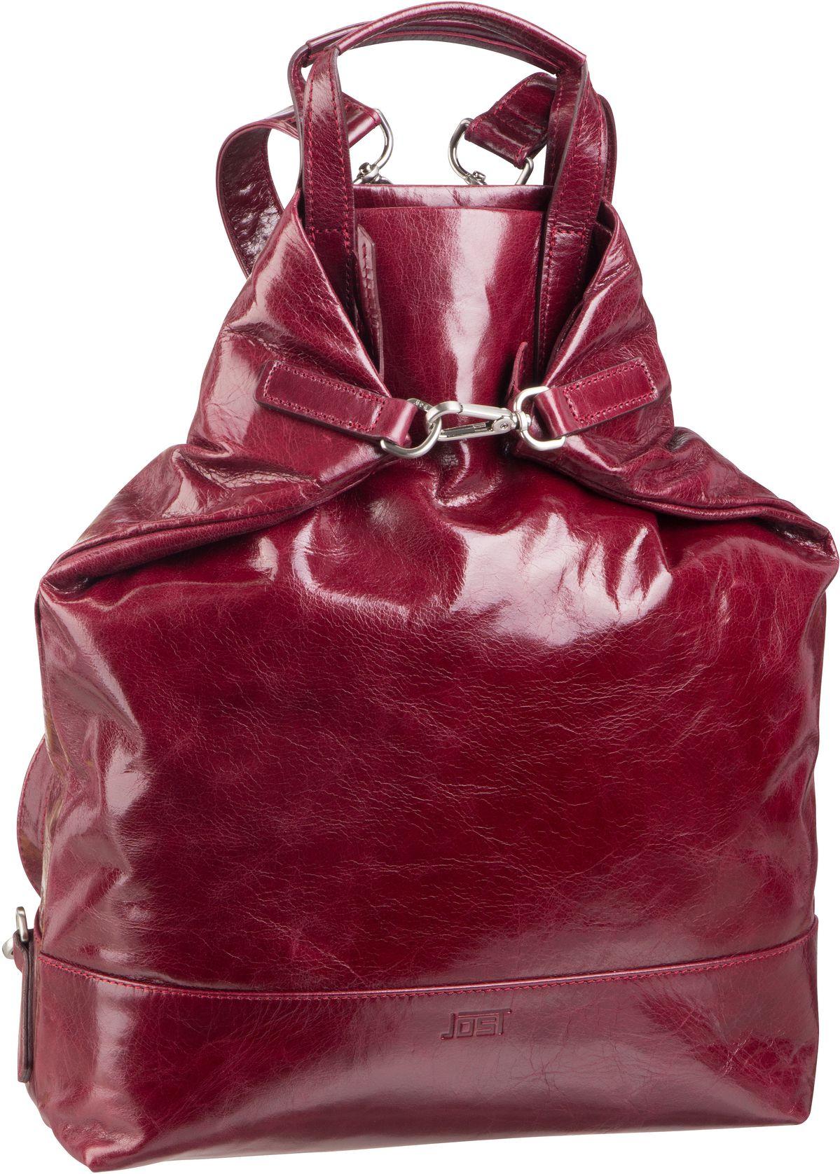 Rucksaecke - Jost Rucksack Daypack Boda 6632 X Change Bag M Bordeaux  - Onlineshop Taschenkaufhaus