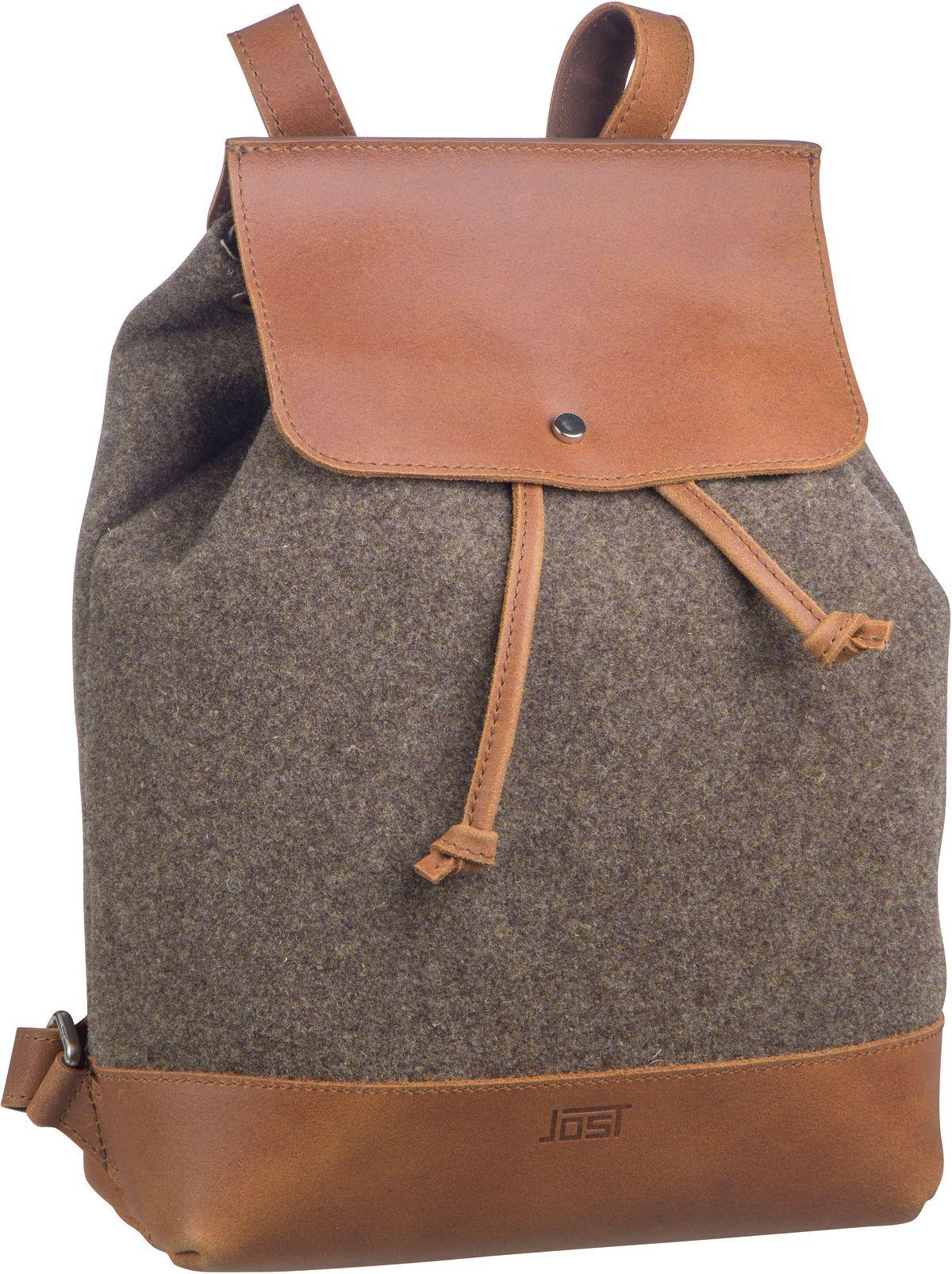 Rucksack / Daypack Farum 3028 Drawstring Backpack Brown