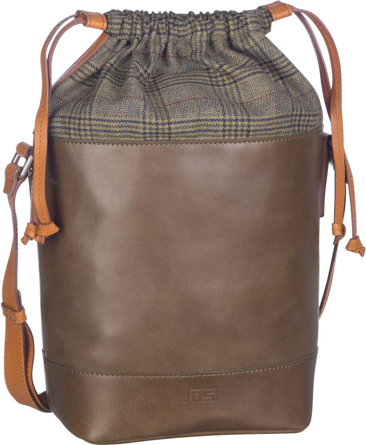 Handtasche Checks 7231 Umhängetasche Olive