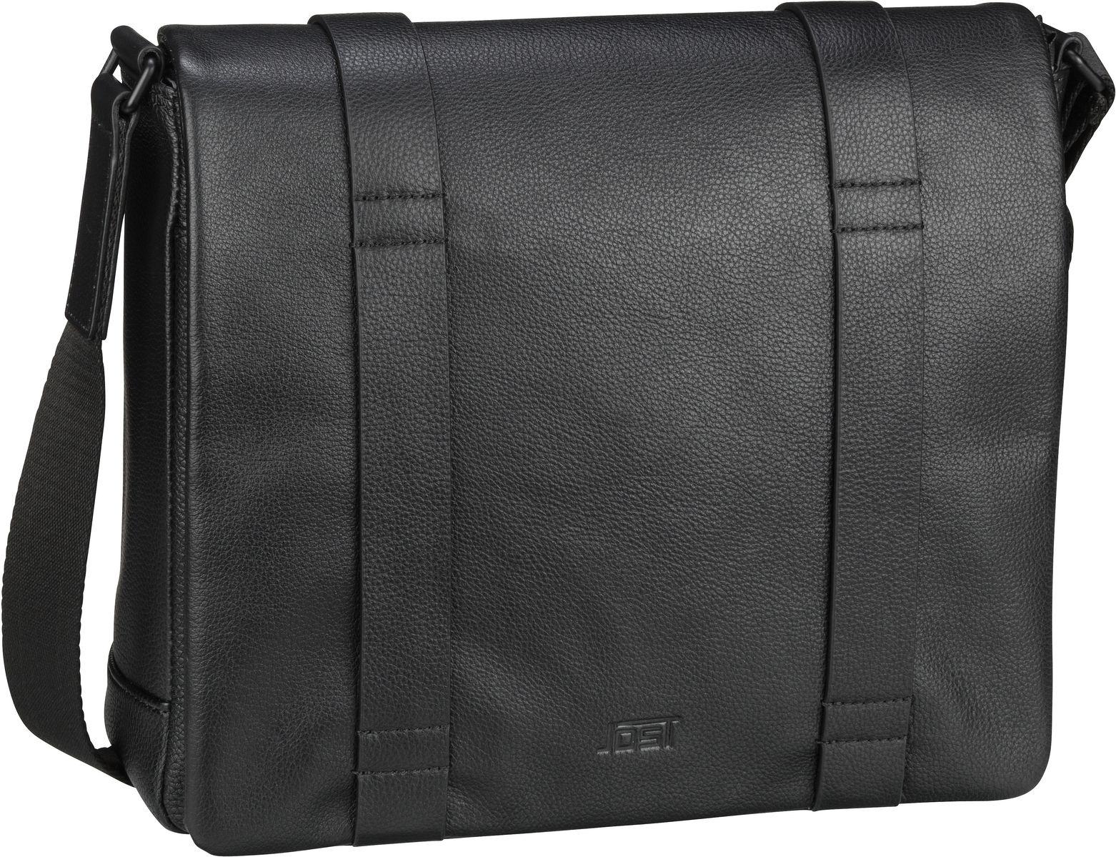 jost -  Umhängetasche Reykjavik 4000 Shoulder Bag M Black