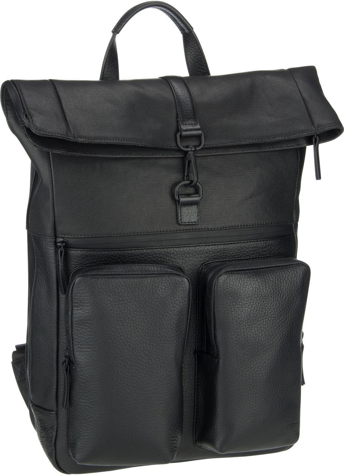 Rucksack / Daypack Stockholm 4552 Backpack Schwarz