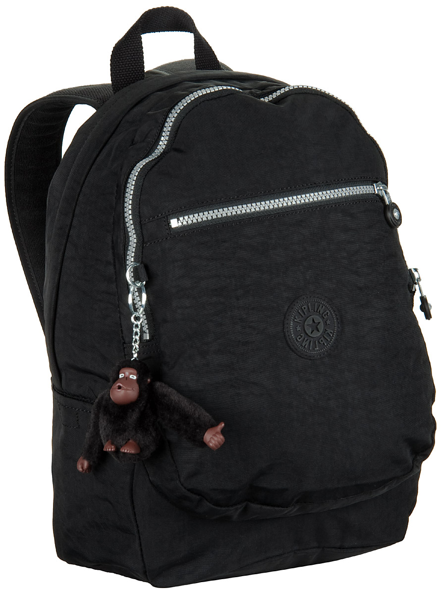 Neu-Seeland Angebote Kipling Classic Challenger Black - Rucksack / Daypack