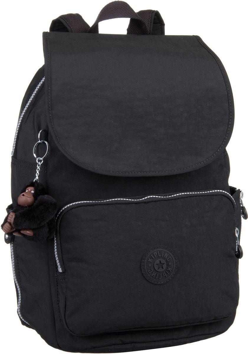 Rucksaecke für Frauen - Kipling Rucksack Daypack Cayenne Black (16 Liter)  - Onlineshop Taschenkaufhaus