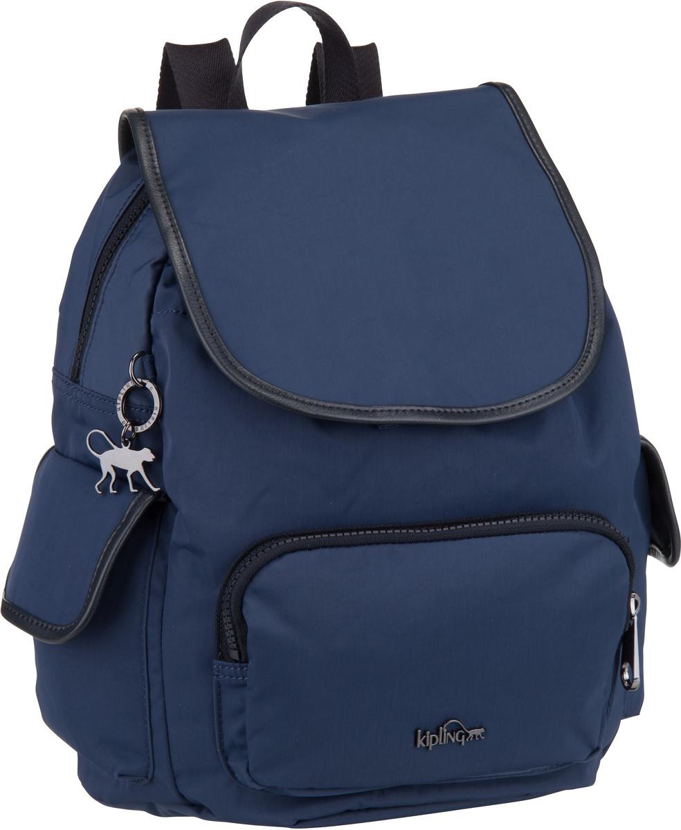 Rucksaecke für Frauen - Kipling Rucksack Daypack City Pack S Basic Plus Satin Blue C (13 Liter)  - Onlineshop Taschenkaufhaus