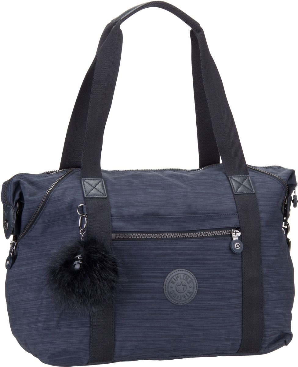 Handtasche Art Basic Plus True Dazz Navy (21 Liter) Kipling IRut2nAW
