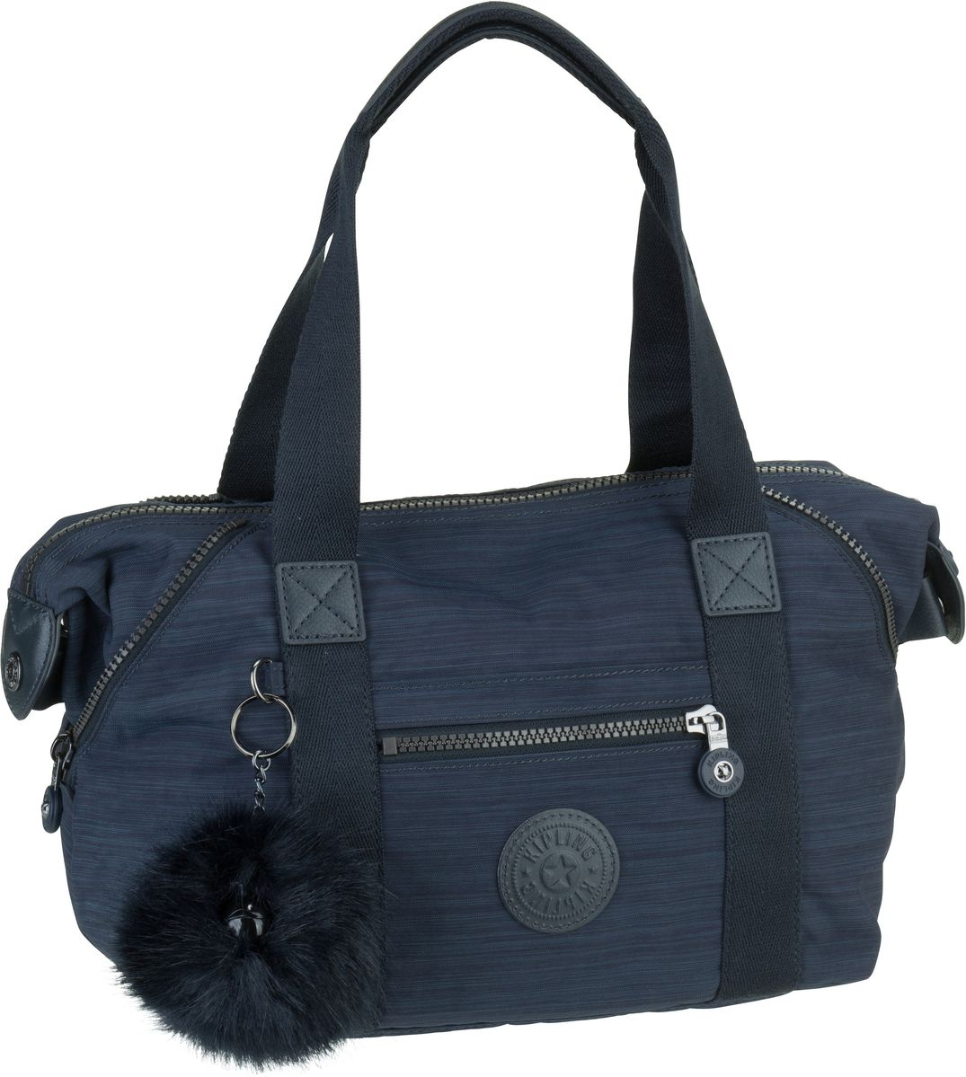 Handtasche Art Mini Basic Plus True Dazz Navy (innen: Grau) (13 Liter)