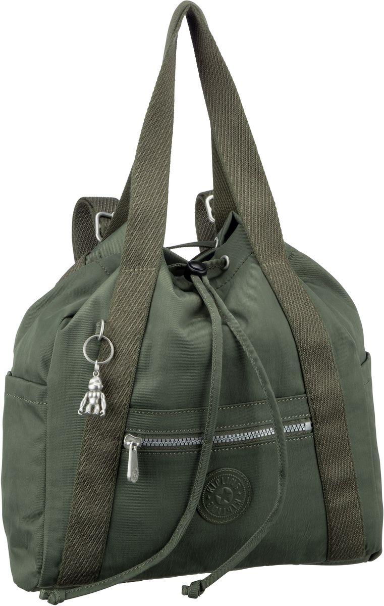 Rucksack / Daypack Art Backpack S Transformation Rich Green (11 Liter)
