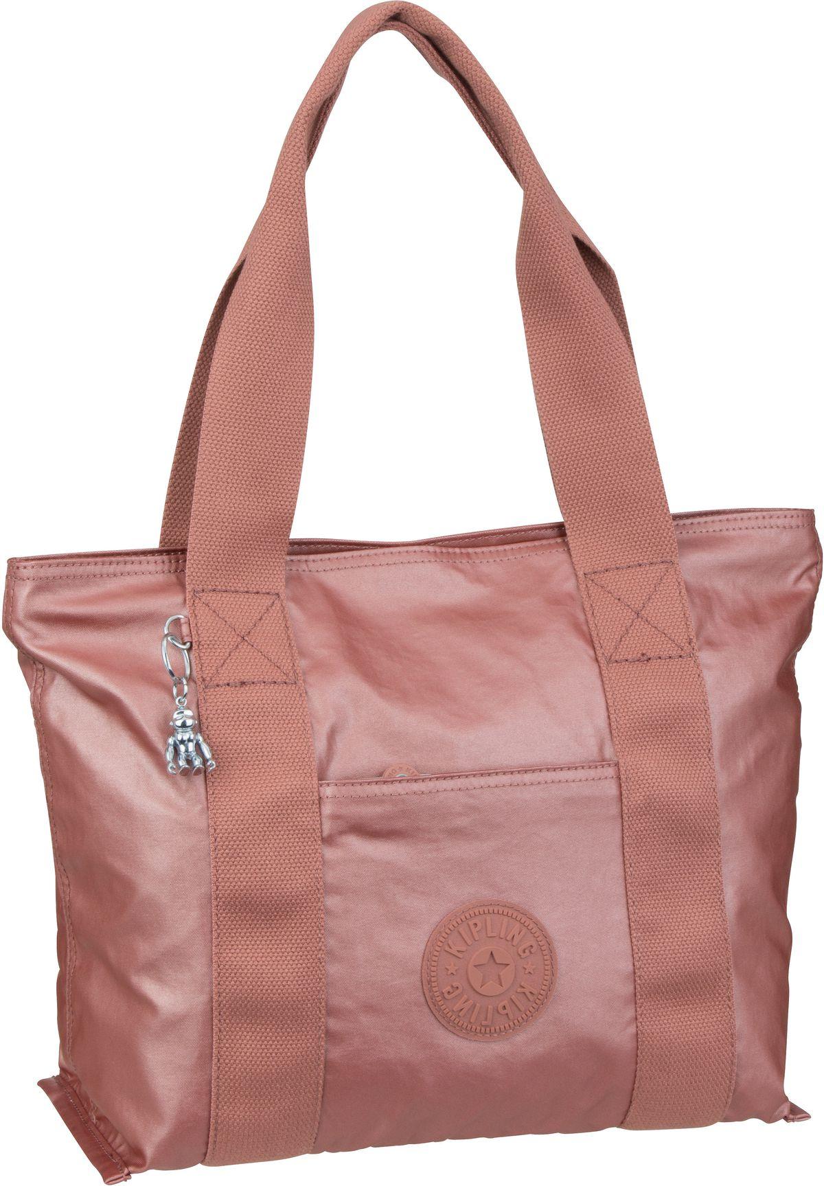 Handtasche Era S Edgeland Metallic Rust (15 Liter)